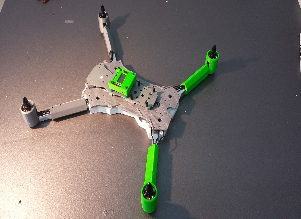 picture about 3d Printable Drone referred to as 3D Printing Challenge Is Acquiring A Drone Towards Your 3d Printer