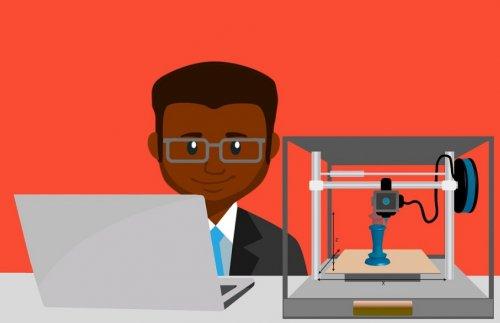 3D printing programing on computer