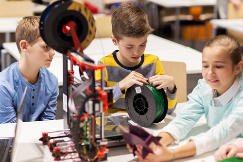 Benefits Gained From Using 3D Printers In The Classroom